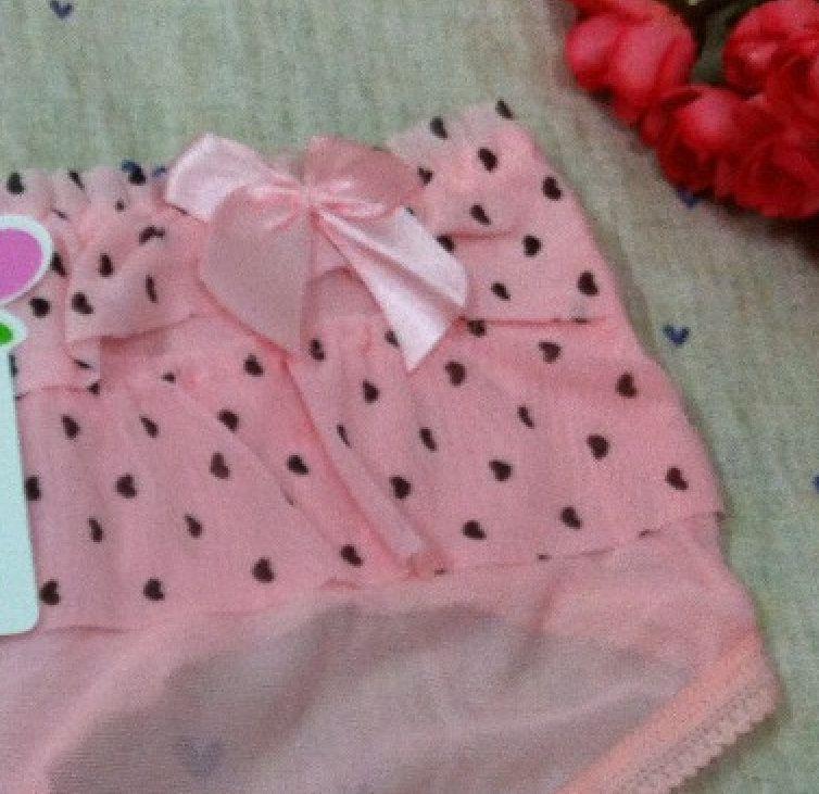Nuevas bragas transparentes Hot Sexy Woman Lace Underwear Girls Lovely Dot Panty Femal ropa íntima PA012
