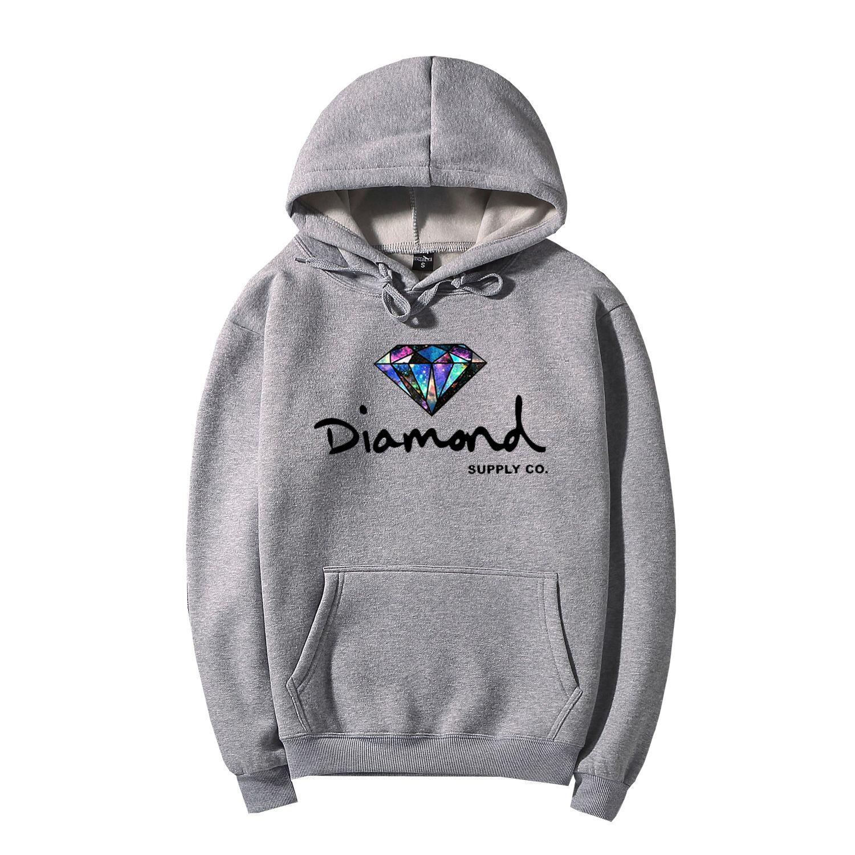 2e350083463 Men Women Trend Diamond Hoodie Brand Sweatshirt with Letter Printing ...
