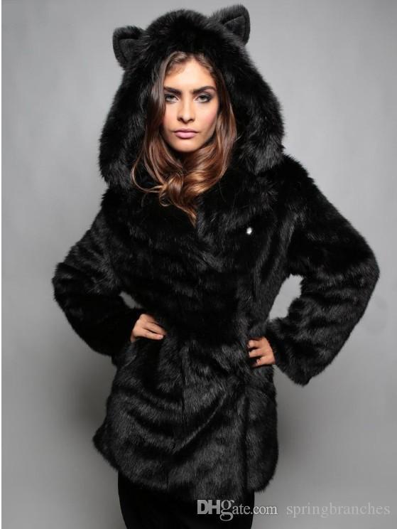 Fourrure, manteau de fourrure, Big Code, Europe, Amérique, nouveau style, manteau de chapeau, poil de renard, vente directe d'usine de manteau de fourrure