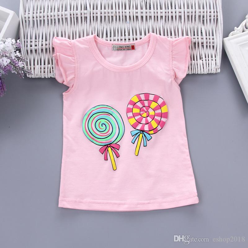 Baby Girls Clothing Outfits Sets Fashion Brand Summer Newborn Infant Baby Girls Clothes Casual Sports Brand Printed Tracksuits
