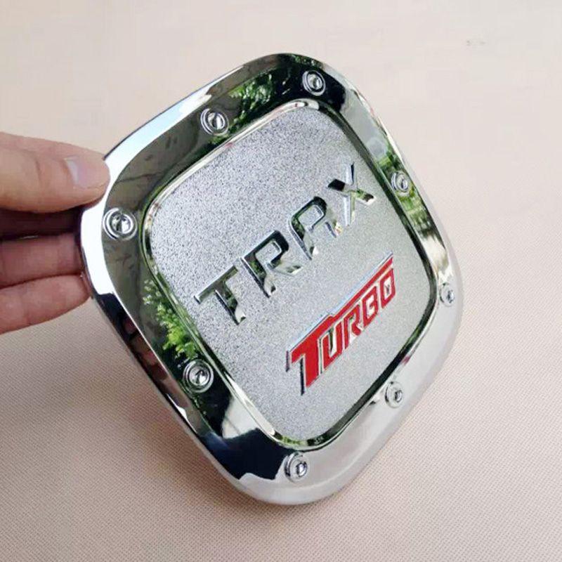 L'alta qualità Chevrolet 2014-2015 anno Trax ABS PVC o metallo protezione del serbatoio di protezione di gas della copertura del serbatoio di combustibile logo distintivo Emblem Sticker