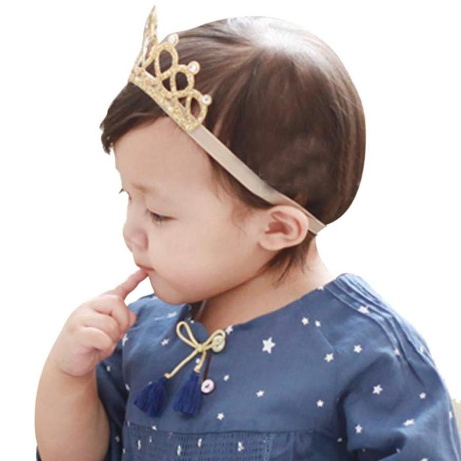 Girl Head Accessories Hairband Girl Elastic Flower Crown Headwear