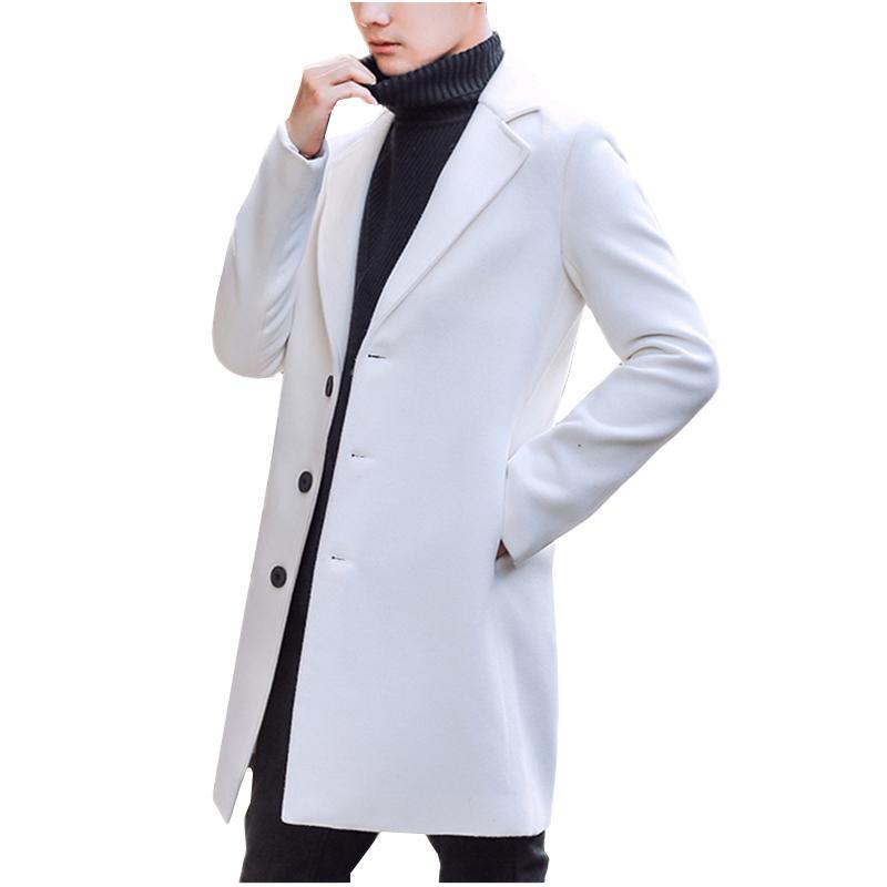 various colors fa5ac 735f8 Di buona qualità Uomini Cappotto Giacche invernali Uomo Capispalla Giacche  lunghe New Fashion Uomo Casual Trench Large S Down Giacche Taglia S 5XL ...