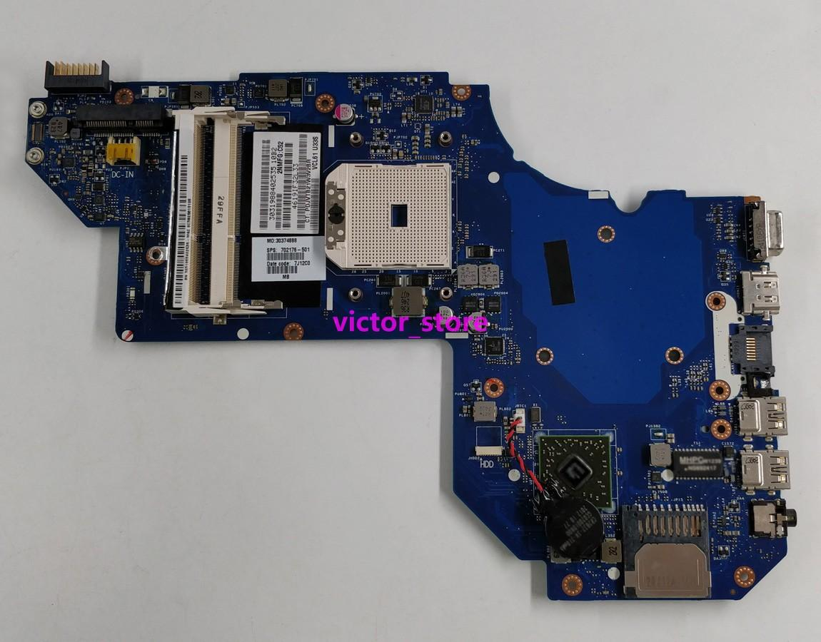 Free Shipping for HP ENVY M6-1188CA M6-1205DX M6-1105dx M6-1148ca  702176-501 702176-601 A70M Laptop Notebook Motherboard Mainboard Tested