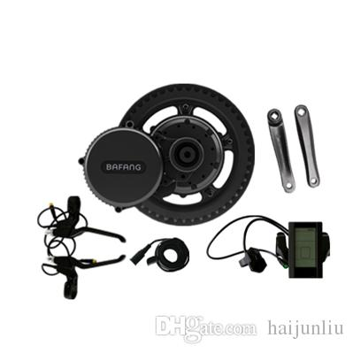 2018 New Bafang BBS02B 48V 750W Ebike Motor with LCD display 8fun/bafang  mid drive Electric Bike conversion kits