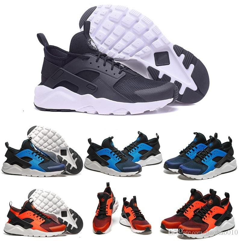 45acd6706dc4 Newest Air Huarache Shoes Casual Shoes For Men   Women Black White ...