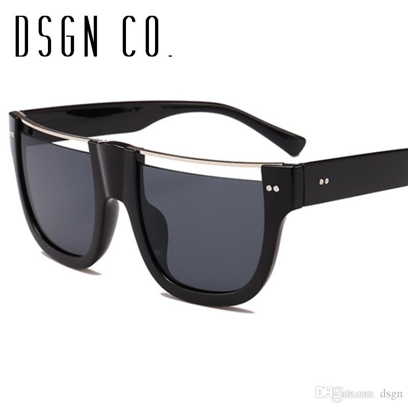 7d9ed4c4dd7 DSGN CO. 2018 Modern Fashion Sunglasses For Men And Women Semi ...