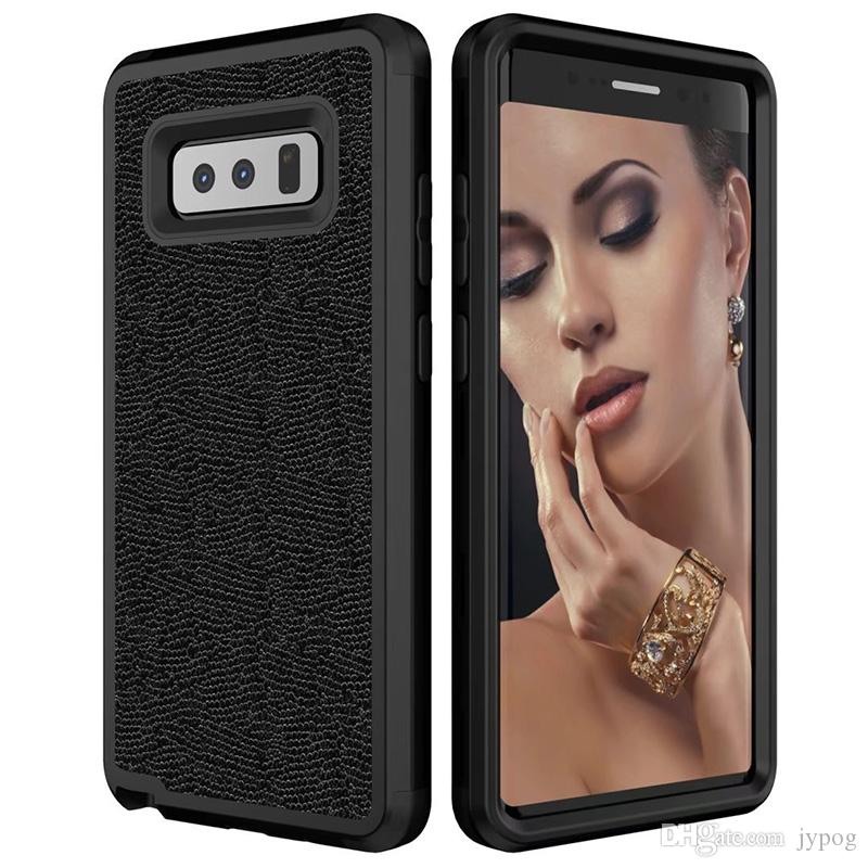 For Samsung Note8 Case 3in1 Defender Case High Impact Heavy Duty Hard Rugged Rubber Shockproof Leather Back Cover for Samsung Note8