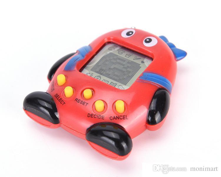 2018 Tamagotchi Electronic Pets Toys 168 Animali in uno virtuale Cyber 90S giocattolo animali domestici nostalgico 5 stile Tamagochi pinguini giocattolo DHL LIBERA il trasporto