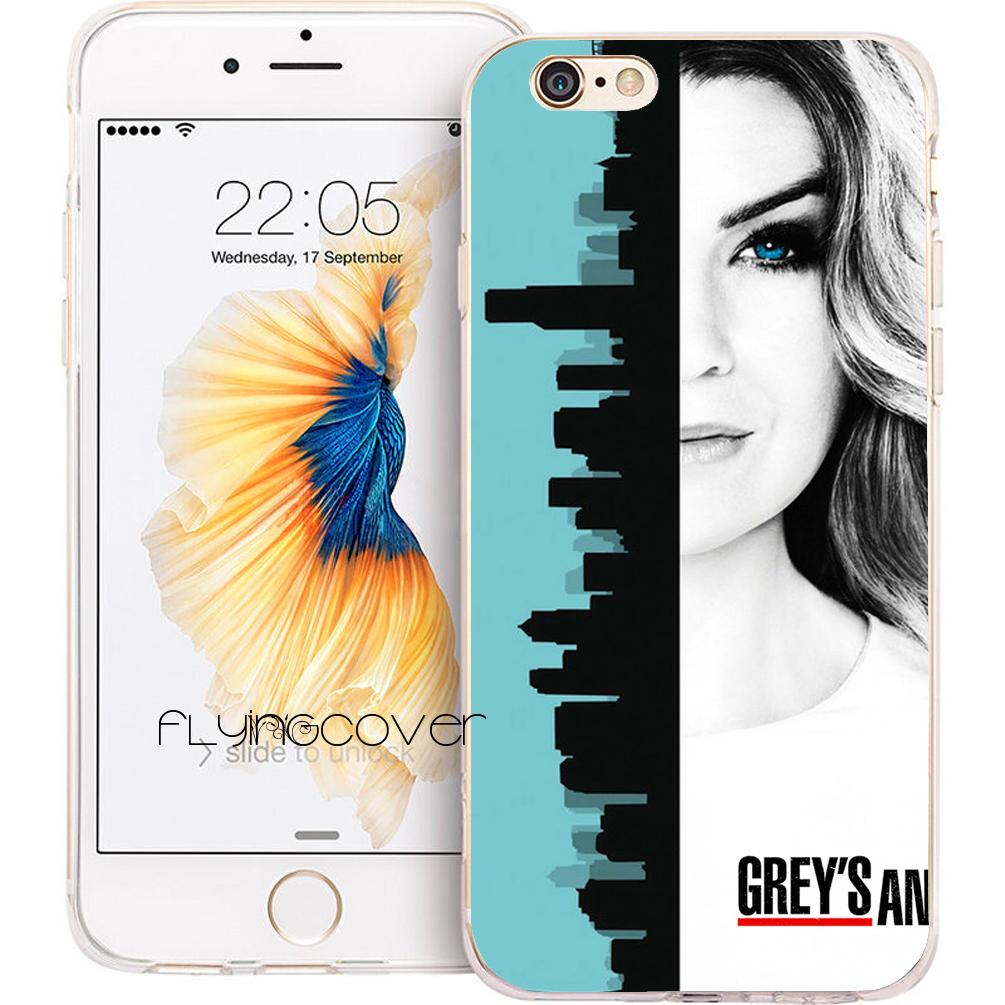 Capa Greys Anatomy Tv Clear Soft Tpu Silicone Phone Cover For Iphone ...