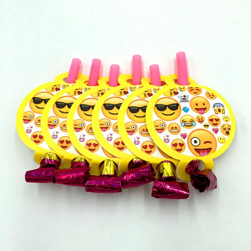 Emoji Blowouts Birthday Party Decoration Noise Makers Kids Favor Supplies Baby Maker From Georgen