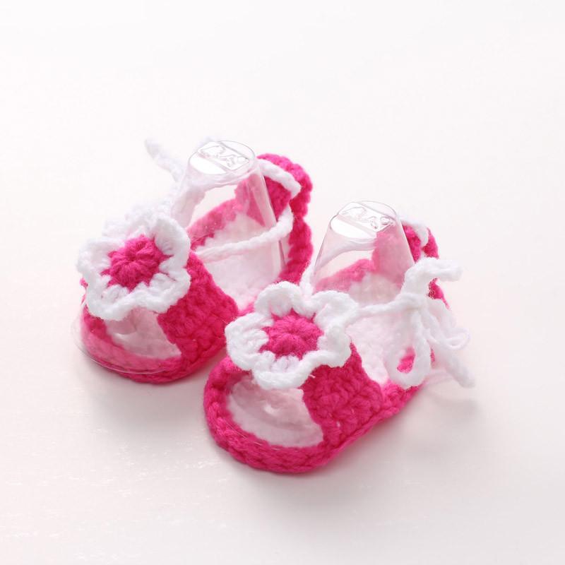 de2850afba656 Acheter CHAMSGEND Bébé Fille Berceau Crochet Casual Bébé Filles À La Main  Tricot Chaussette Daisy Infant Chaussures Chaussures Drop Ship 2018 HOT  Oct5 De ...