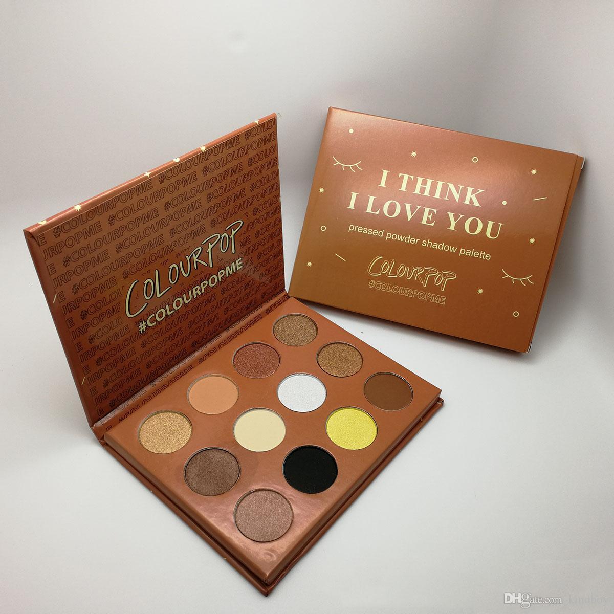 Nouveau Palette de maquillage 12 couleurs fard à paupières palette de maquillage ColourPop Cosmetics MIX DHL Livraison gratuite universelle 12 couleurs / set
