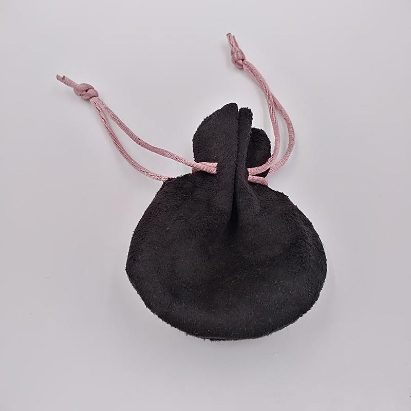 904dac24147b Cinta rosa Bolsas de terciopelo negro Fit Pandora estilo europeo encantos y  pulseras Collares Joyas Moda Colgante Bolsas KNNG