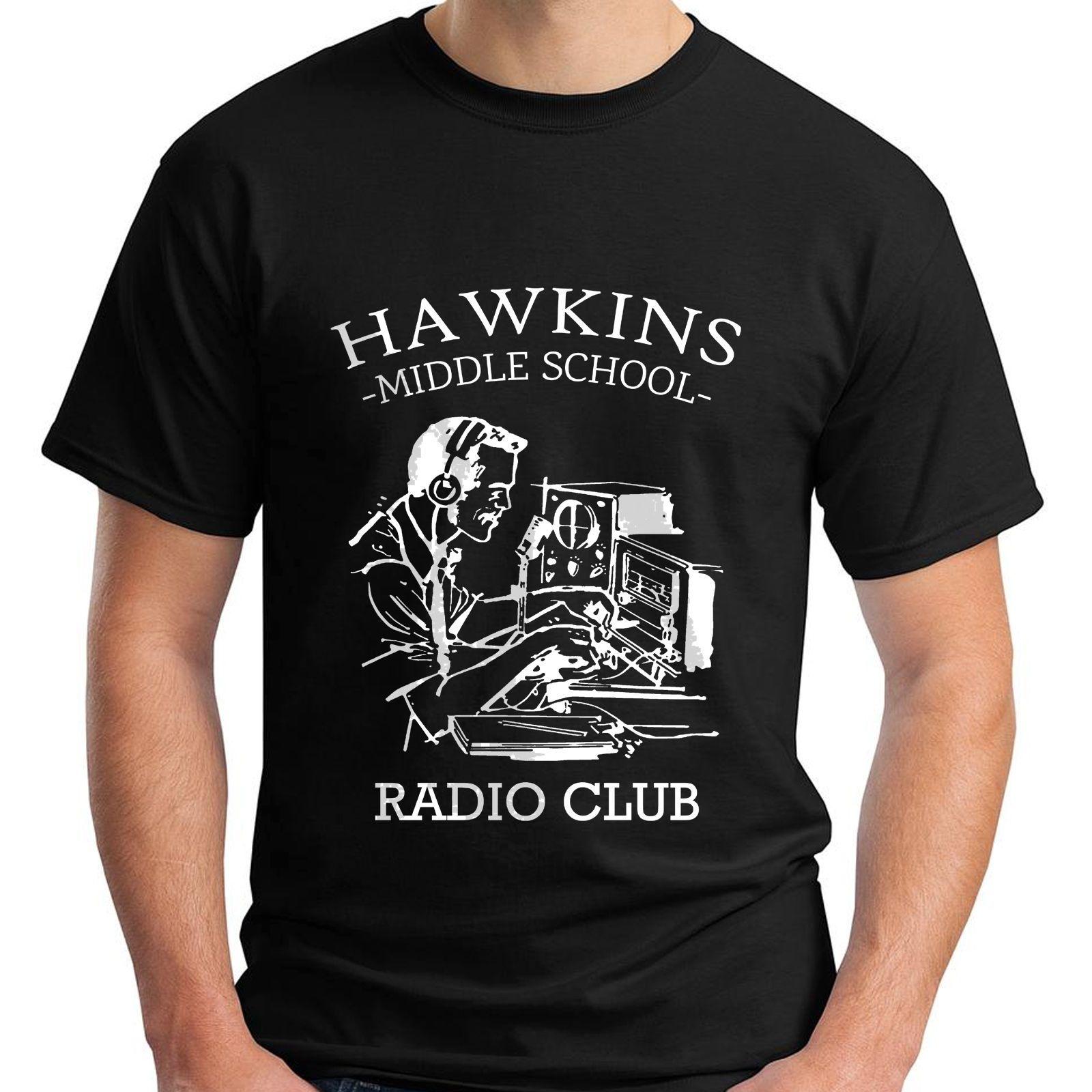 Großhandel Hawkins Middle School Radio Av Club Fremden Dinge