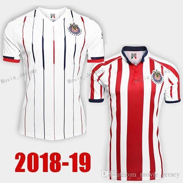 6e52a2ce8 2018 2019 CD Chivas Guadalajara Jersey Hombres Fútbol 20 PIZARRO 10 LOPEZ  14 ZALDIVAR 9 PULIDO 11 BRIZUELA Equipo De La Camiseta De Fútbol Por  Movie jersey