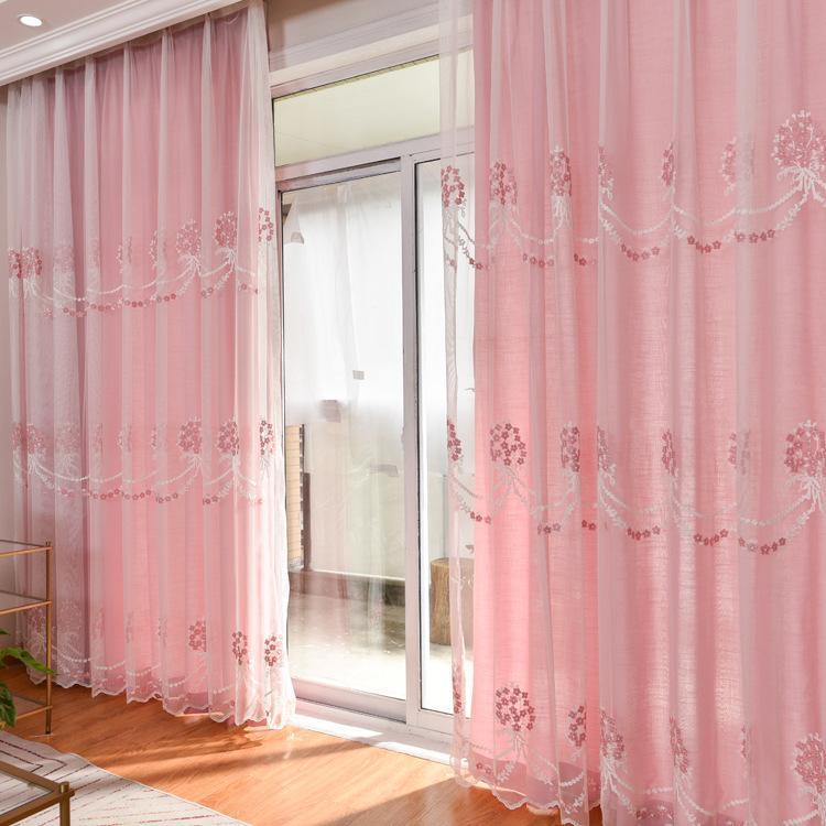 Acheter Nordic Simple Chambre À Coucher Moderne Rideaux Pour La Salle À  Manger Salon Chambre Bay Window Rideau De $26.33 Du Minggame001 | DHgate.Com