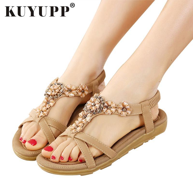 ab95017535 Sandali da spiaggia Scarpe da donna Sandali comfort Sandali infradito di  moda di alta qualità Sandali gladiatore sandali YDT239