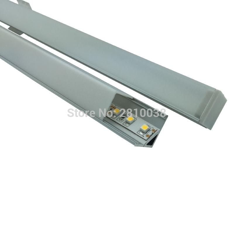 Großhandel 10 X0.5m Sets / Right Angled Led Leiste Profil Und ...