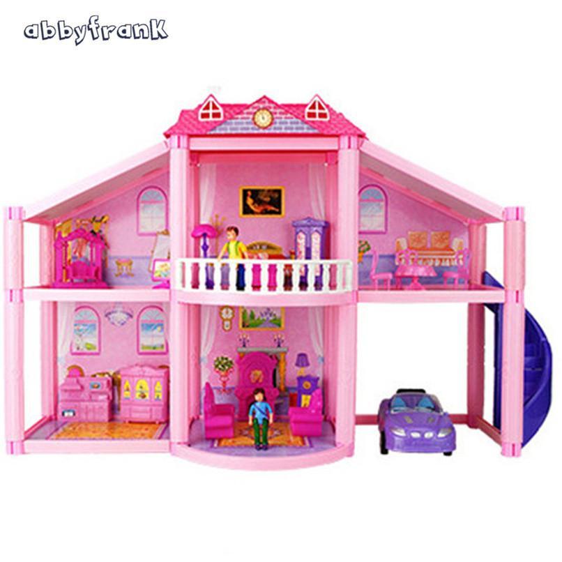 Abbyfrank Fashion Miniature Dolls House Diy Dollhouse Accessories
