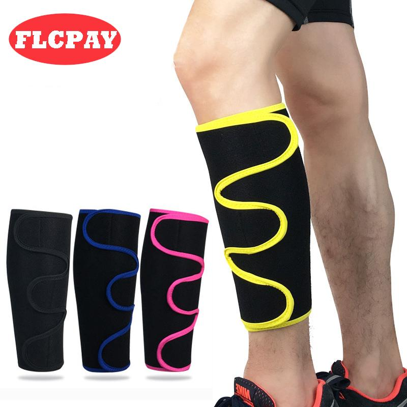 1 PCS Adjustable Men Women Football Cycling Calf Support Shin Guard Running Soccer Basketball Leg Sleeve Protector