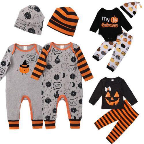 08daf3c02 2019 Cute Halloween Costume Newborn Infant Baby Boy Girl Kids 3 ...
