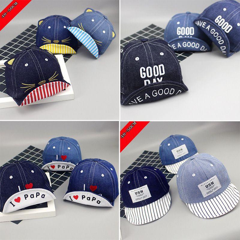 ff645cff6 Brand New Toddler Kids Baby Boys Girls Baseball Dad Cap Unisex Embroidery  Snapback Hat Summer Fashion Soft Brim Hat