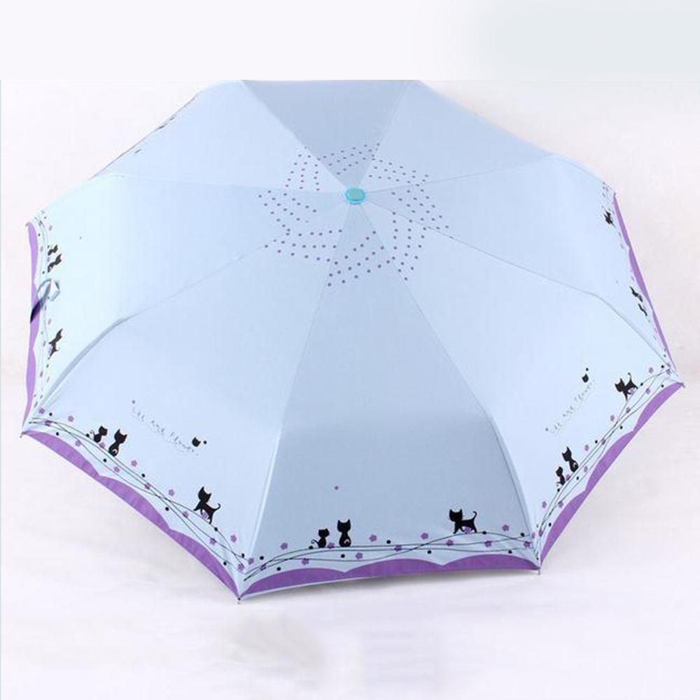 2018 automatic sun rain umbrella parasol women girls folding