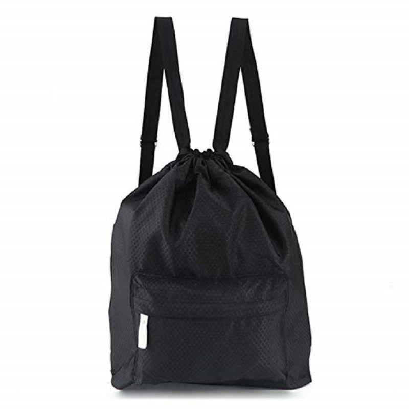 d425a3ef035c Beach Backpack Portable Waterproof Gym Swim Pool Drawstring Bag ...