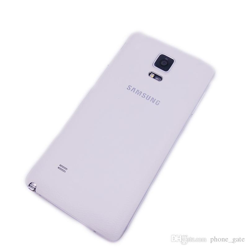 Восстановленный Оригинальный Samsung Galaxy Примечание 4 Примечание4 N910F N910A N910T 5,7-дюймовый Quad Core 3ГБ ОЗУ 32 Гб ПЗУ 16MP 4G LTE смартфон