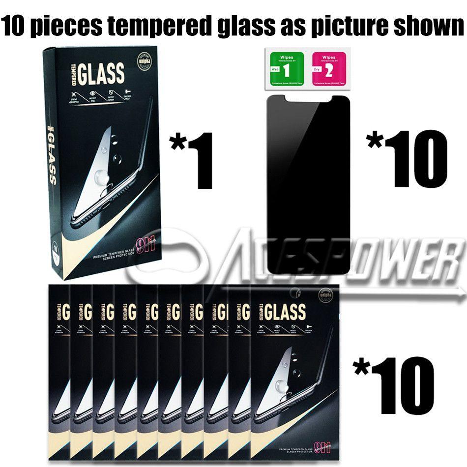 iPhone 12 Mini 11 Pro XR XS Max x 8 7 6s Plus 개인 정보 보호 화면 보호기 Anti-Spy Real Styl Chince