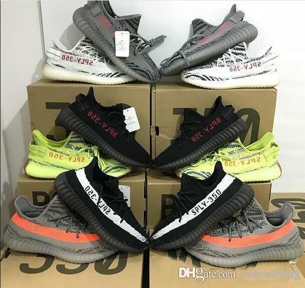 timeless design 2e809 d0118 Acquista Più Nuovo 350 V2 Boost Blue Tint B37571 Beluga 2.0 Semi Congelato  B37572 Sply 350 Uomini Scarpe Da Donna Running Shoes Sz 36 46 Adidas Yeezy  Yeezys ...