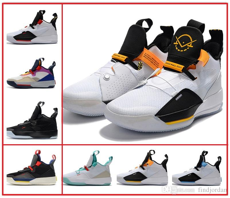 fda9a8b1e6f 2019 33 XXXIII Tech Pack Future Of Flight Visible Utility Blackout Men  Basketball Shoes 33s Guo Ailun China Exclusive Colorway Design Sneaker From  ...