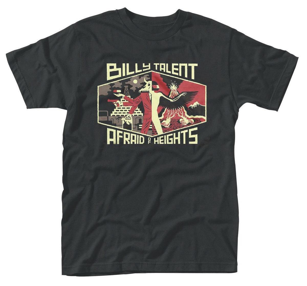 Camiseta de Billy Talent 'Afraid Of Heights' - NUEVO OFICIAL