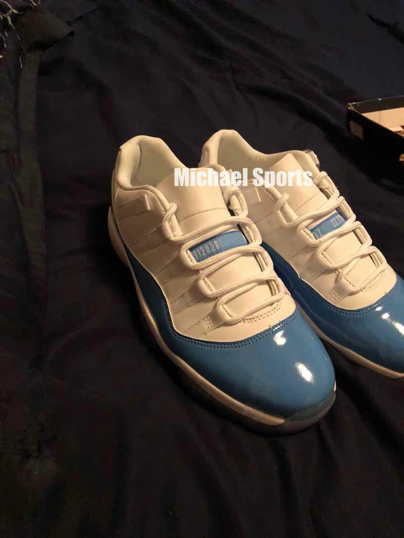 Cool grigio 11 low prom night 11s Scarpe da basket UNC Concord 72 10 allevati Gamma Blue Space jam da uomo