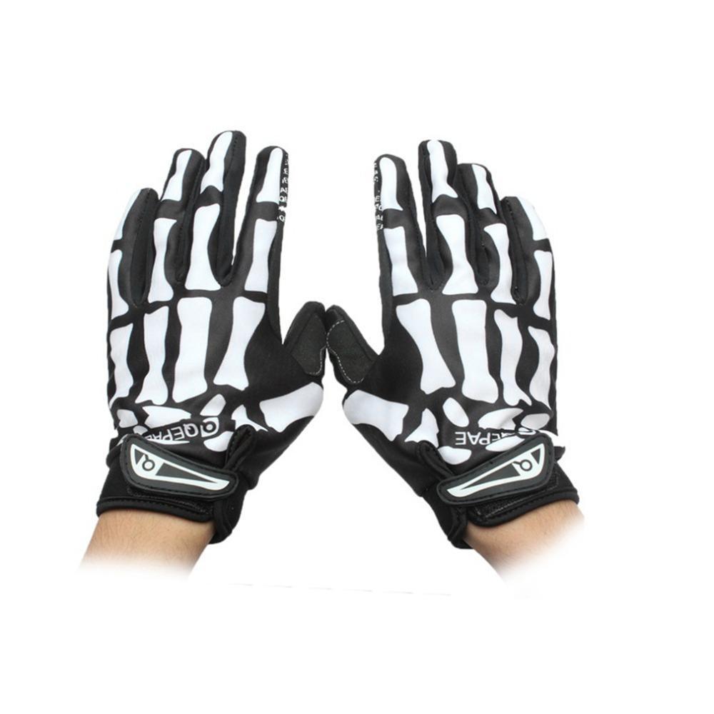 909c9358 Guantes profesionales hueso esqueleto dedo completo guantes de montaña  antideslizante respirable otoño invierno protectora moda ventas