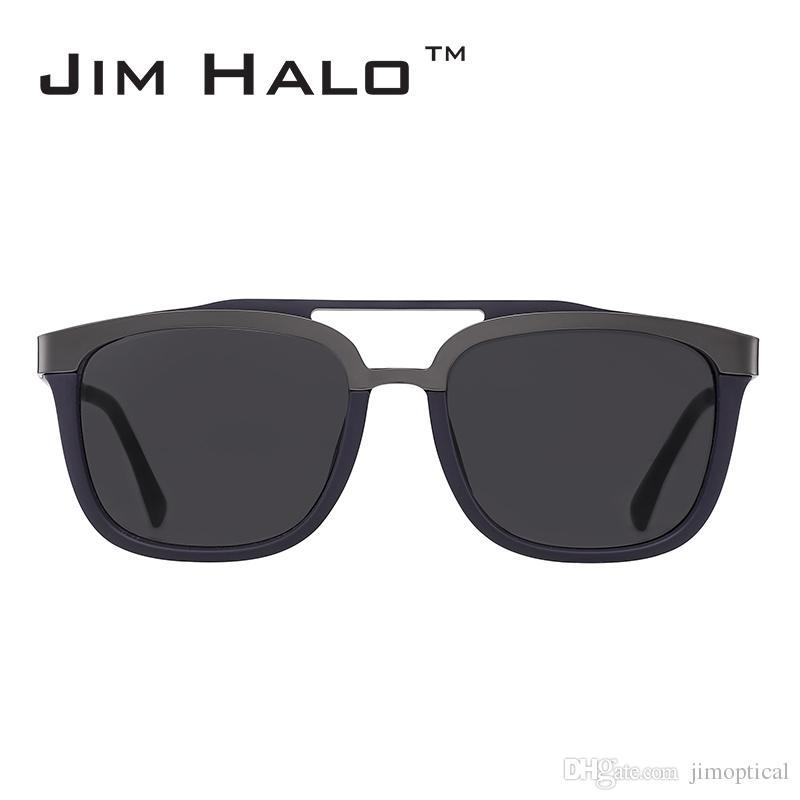 Compre Jim Halo Wholesale 10 Unids / Lote Retro Vintage Browline ...