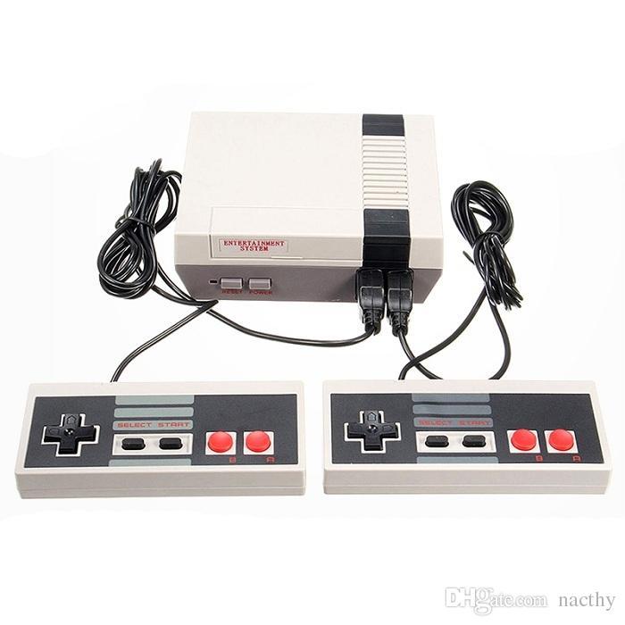 Мини-телевизор игровая приставка развлекательная система видео портативный может хранить 500 620 игр для игровых консолей NES с розничной коробкой DHL бесплатно