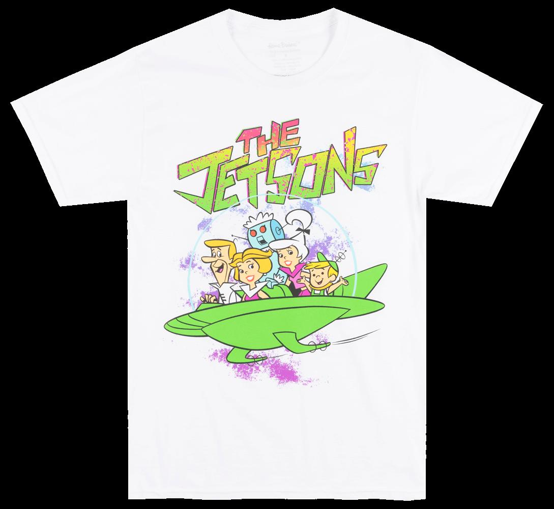 465b0ed1 THE JETSONS SPACE FAMILY T SHIRT WHITE MENS HANNA BARBERA TV SHOW TEE  Clothes T Shirt Crazy T Shirts Designs From Xsy15tshirt, $12.05  DHgate.Com