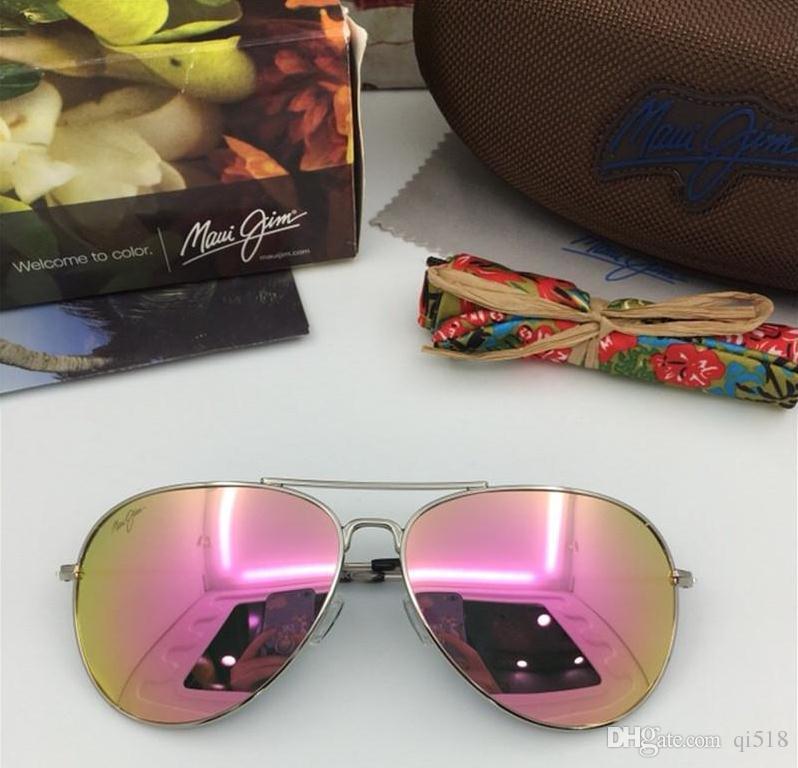 bda1c3384a New Fashion Brand Maui Jim MJ 264 Sunglasses Sun Glasses MJ264 Polarized  Sunglasses Men Women MJ Sports Super Light Glasses For Driving Sunglasses  Frame ...