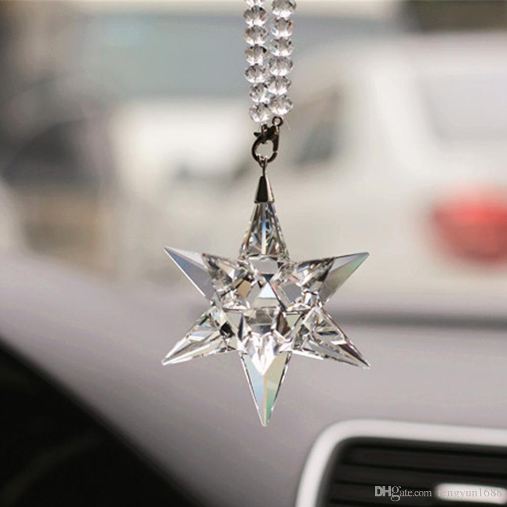 charm rear to mirror pendant bowknot sale the deals ornament view add crystal gift car ball austrian from angel product electronics