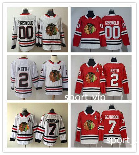 Chicago Blackhawks Hockey Jerseys 00 Clark Griswold Jersey 2 Duncan ... 080ba0616