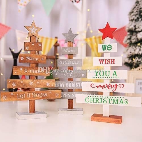 Großhandel Mini Weihnachtsbaum Dekoration Für Zuhause Ornamente ...