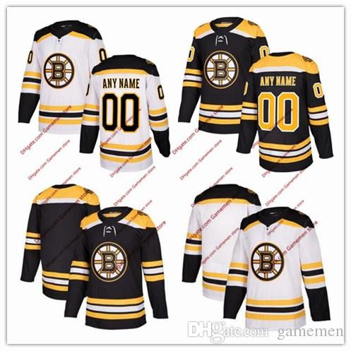602a00336619 2019 Custom 2018 Boston Bruins Men S Women S Youth 51 Ryan Spooner 59 Tim  Schaller 63 Brad Marchand Ice Hockey Personalized Stitched Jerseys From  Gamemen