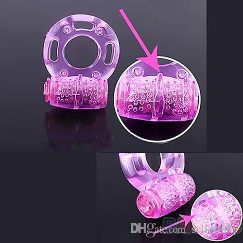 Brinquedos sexuais Adultos Homens Coleiras de Vibração Atraso Ejaculação Precoce Fechadura Fina Borboleta Galo Anel Peniano