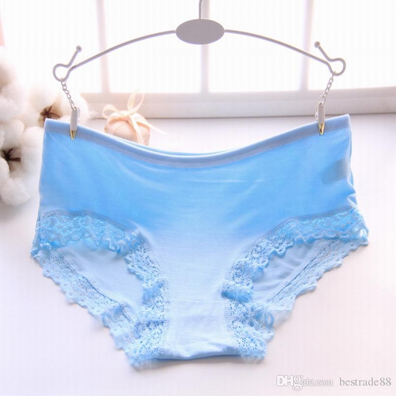 2185449a211 2019 New Women S Cotton Panties Girl Briefs Ms. Cotton Underwear Bikini  Underwear Sexy Ladies Briefs 017XL Lace From Bestrade88