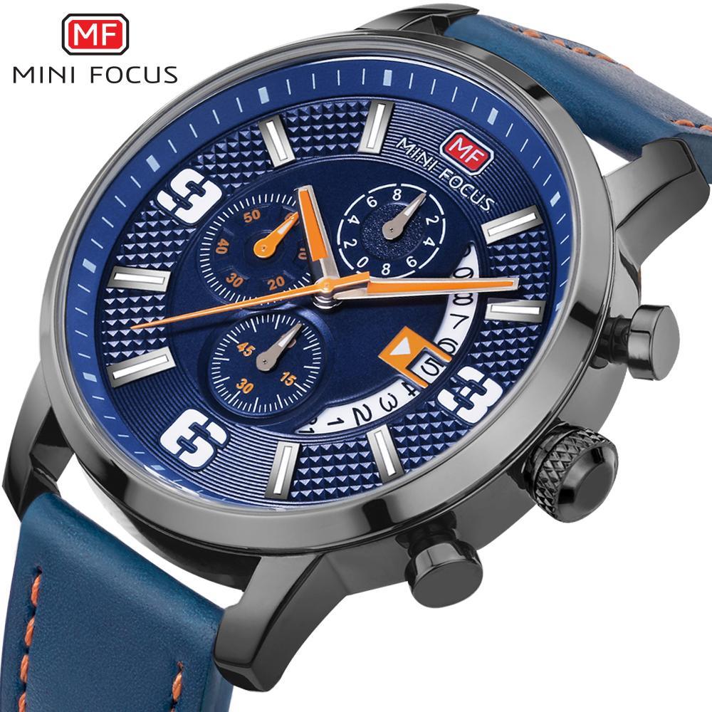 5b017eac7ee Compre MINI FOCO Relógio De Pulso Dos Homens Top Marca De Luxo Famoso  Relógio Masculino Relógio De Quartzo Relógio De Pulso De Quartzo Relógio  Relogio ...