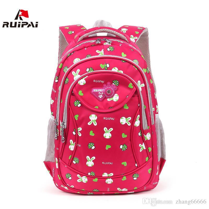 ff5d47f9885e RUIPAI Fashion Kids Polyester Rabbit School Backpack Schoolbags Kids ...