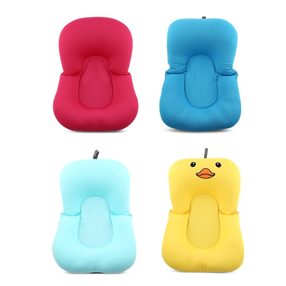 2018 High Quality Anti Skid Baby Bath Mat Folding Soft Newborn Seat ...