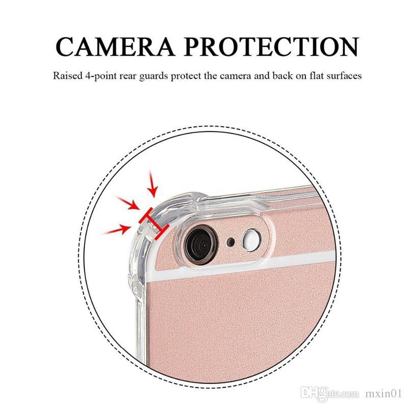 1.5MM Thickness Transparent TPU Shockproof Air Cushion Case for Samsung J2 J5 Prime J7 Pro J4 J6 J8 2018 A9 Star Huawei P20 Lite NOVA 3 3i